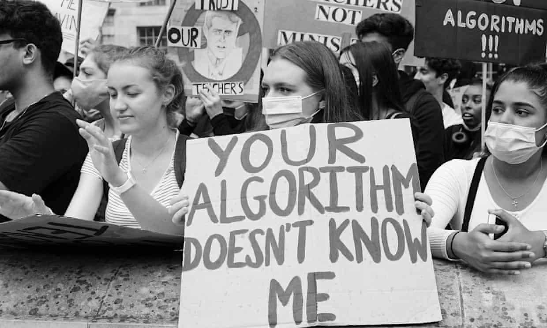 Algorithm protest
